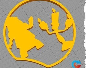 3D print model Disney Inspired Mouse Ear - Cogsworth and