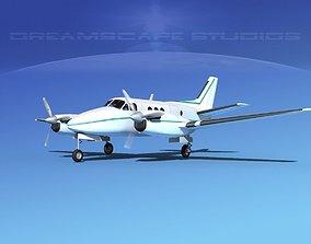 Beechcraft King Air C100 V12 3D