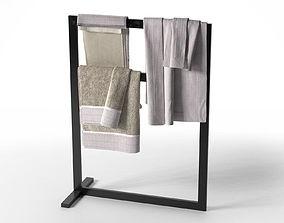 3D Free Standing Towel Rail