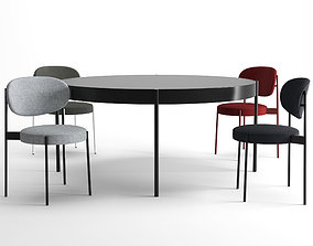 SERIES 430 CHAIR and TABLE by VERPAN 3D model