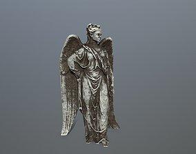 3D asset Angel Statue 5