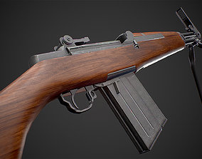 Beretta BM 59 rifle 3D model