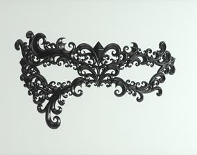 Carnival Mask 3D printable model 3dprinting