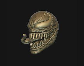 Venom head 3D printable model