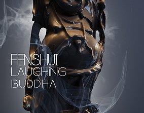 3D Feng Shui Laughing Buddha