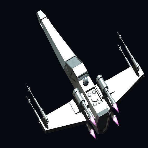 X-Wing from Star Wars