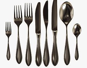 3D model Cutlery set 04