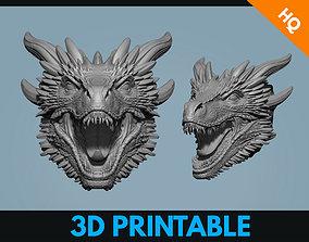 Drogon Dragon Game Of Thrones Fan Art 3D printable model