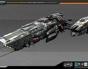 3D model Federation Frigate MB3 V2