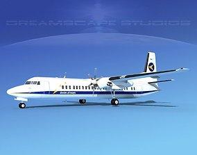 Fokker F-60 Denim Air 3D
