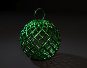 Christmas ball Christmas decoration 3D printable model