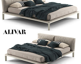 Bed Alivar Join 3D model