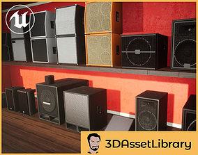 3D model Speakers Vol 1 For Unreal