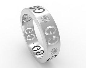 Luxury Fasion Ring FR01 3D printable model