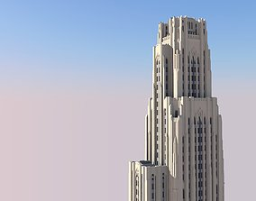 3D printable model Cathedral of Learning