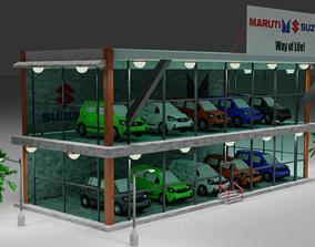 MARUTI SUZUKI CAR SHOWROOM AUTO K10 3D asset realtime