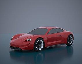 Porsche Mission E -Taycan 2019 3D