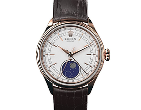 Rolex Cellini Moonphase 3D