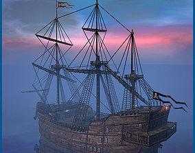 Sea Queen Ship 3D asset