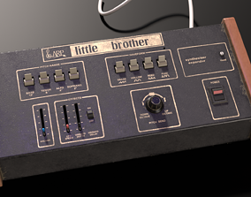 3D ARP Little Brother Vintage Synthesizer