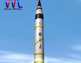 3D AGNI-5-01 test missile
