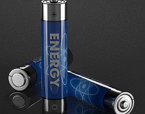 AAA Battery 3D model