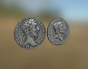 3D model Roman Coins
