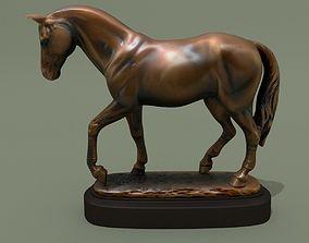 Horse Statuette V 3D model