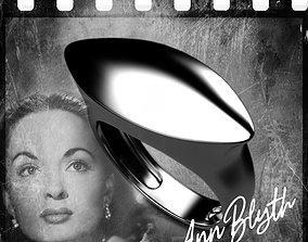 Noir stars Ann Blyth 3D printable model