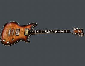 3D asset Guitar Schecter Tempest Classic