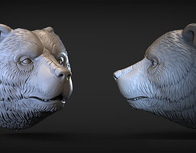 Bear head 2 tool 3D printable model