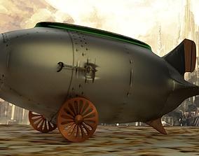 Steampunk Airship 3D