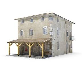 Theater Prop Western Tavern 3D model