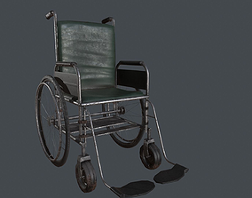 Wheelchair 3D model realtime
