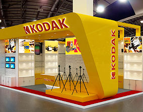 3D model Exhibition stand 8x5mtr