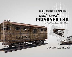 Wild West Prisoner Car 3D model
