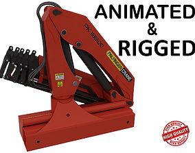 3D model animated Crane
