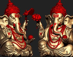 Ganesh Ji 3D Model Ready For 3D Print jewellery