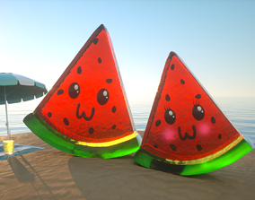 3D model Watermelon Candy Love - Sandias Gomitas