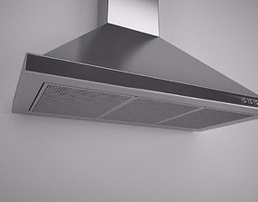 3D Kitchen Extractor Hood