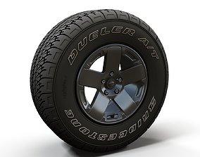 Offroad Wrangler wheel 3D model