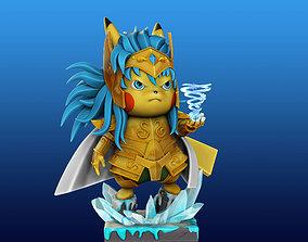 3D printable model Pikachu Knight of the Zodiac Camus