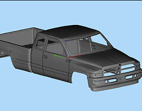 rc Dodge Ram 1500 2nd gen Printable Body Truck
