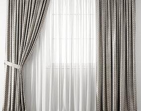 3D Curtain 117