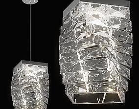 722040 Limpio Lightstar Pendant chandelier 3D model
