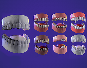 realtime 7 Teeth kit game ready pbr model
