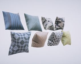Pillows Pack 3D model realtime