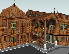 Malaysian Traditional House Design 3D