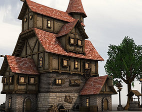 3D asset Adventure Village