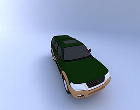 3D Mitsubishi Montero Sport 2001